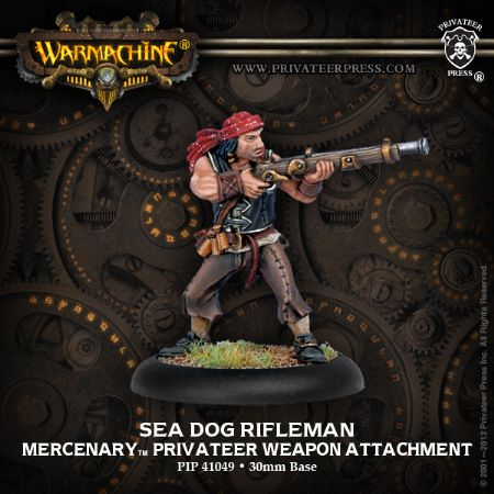 Mercenary Rifleman Sea Dogs Weapon Attach.